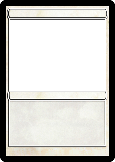 Magic card maker for Card game template maker